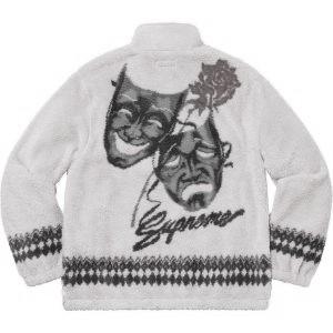 Drama Mask Fleece Jacket
