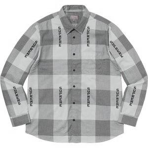 Logo Plaid Shirt