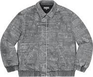 Checks Embroidered Denim Jacket