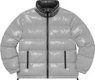 Shiny Reversible Puffy Jacket