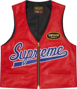 Supreme®/Vanson Leathers® Spider Web Vest