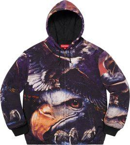 Eagle Hooded Work Jacket