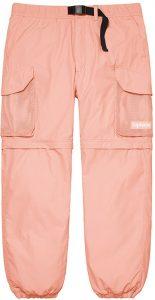 Mesh Pocket Belted Cargo Pant