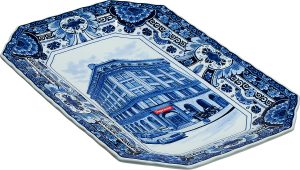 Supreme®/Royal Delft Hand-Painted 190 Bowery Large Plate