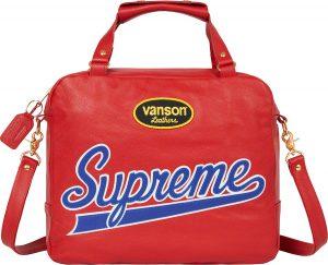 Supreme®/Vanson Leathers® Spider Web Bag