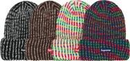 Rainbow Knit Loose Gauge Beanie