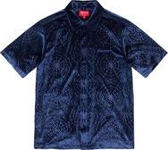 Spider Web Velvet S/S Shirt
