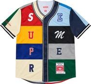 Mitchell & Ness® Patchwork Baseball Jersey