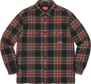 Quilted Plaid Flannel Shirt