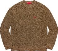 Mélange Rib Knit Sweater