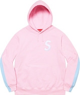 S Logo Split Hooded Sweatshirt
