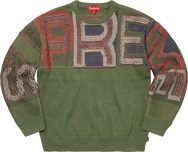 Chenille Logo Sweater
