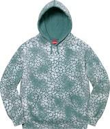 Bleached Leopard Hooded Sweatshirt