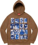 Collage Grid Hooded Sweatshirt