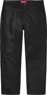 Leather 5-Pocket Jean