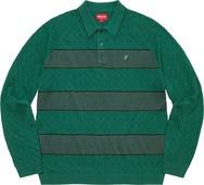 Knit Stripe L/S Polo