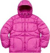 Warp Hooded Puffy Jacket